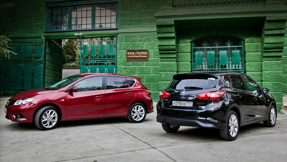Nissan tiida,Nissan sentra. За десять месяцев этого года в Ижевске выпущено 3438 хэтчбеков Tiida и 5072 седана Sentra.