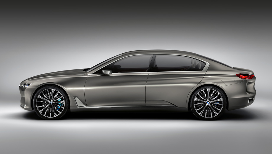 Bmw 9,Bmw i6. Концепт Vision Future Luxury 2014 года можно считать намёком на внешность девятой серии, но весьма приблизительным — пока машина встанет на конвейер, пройдёт немало времени.