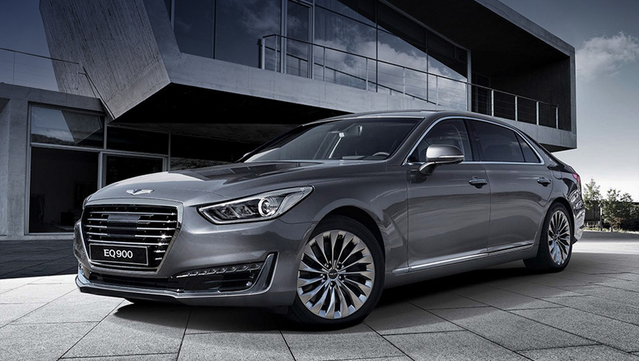 Genesis g90. Первой моделью суббренда станет флагманский седан Genesis G90, который придёт на смену модели Hyundai Equus.