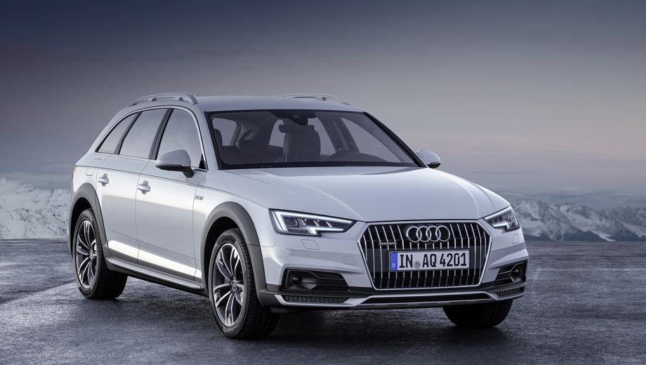 Компания Audi представила модель A4 allroad и концепт на водороде — ДРАЙВ