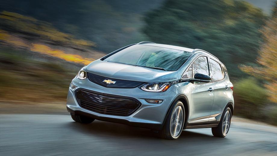 Chevrolet bolt. По предварительным данным, к 2020 году должна появиться версия этой модели с шильдиками Opel.