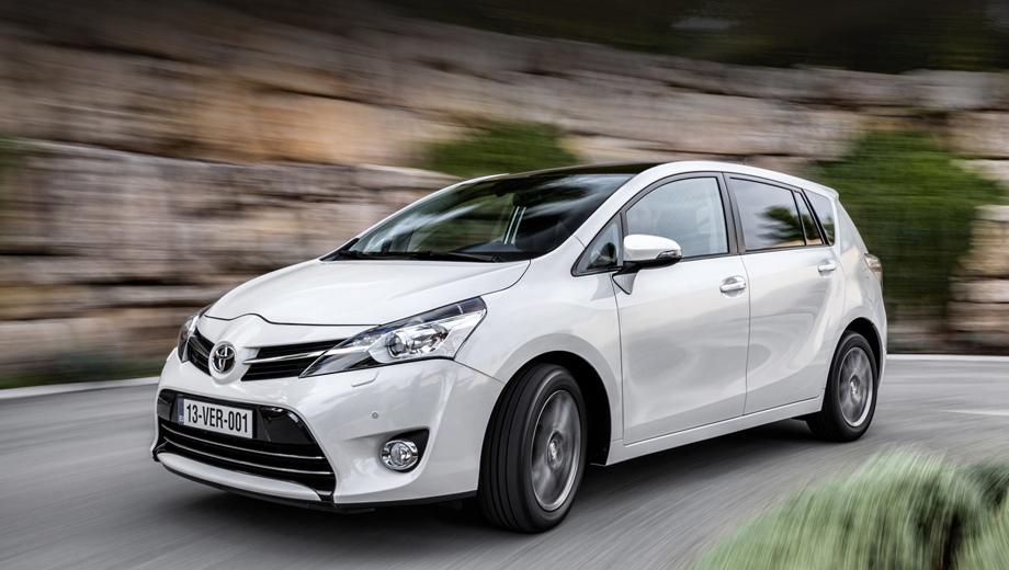 Toyota auris,Toyota venza,Toyota verso. Компактвэн Verso стоил 1132000 рублей, что вполне соответствует уровню цен соперников, но в лидерах сегмента он не числился, а в прошлом году и сам сегмент заметно пострадал.