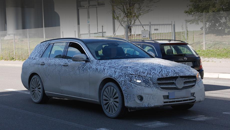 Mercedes e,Mercedes e all-terrain,Mercedes gla,Mercedes e estate. Модель E Estate нового поколения уже попадалась на глаза фотографам. Интересно, что на этом образце клиренс выглядит повышенным, да и передний бампер не похож на бампер уже показанного седана. Может, это и был прототип вседорожника.