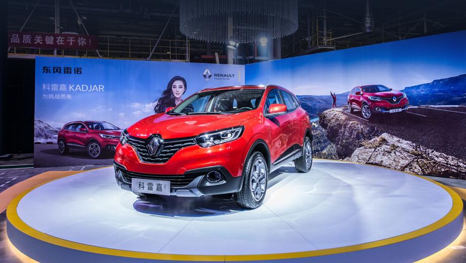Renault kadjar. Компактный кроссовер Renault Kadjar стал первенцем нового завода. Ранее предполагалось, что DRAC создаст свою вариацию автомобиля, но пока это фактически тот же самый «француз», что выпускается в Испании для европейского рынка (в России, увы, модели не будет).