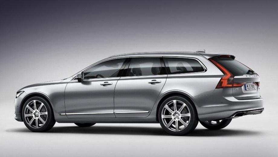 Volvo v90. В Европе универсал Volvo V90 появится во втором полугодии. Цены на него пока не названы.