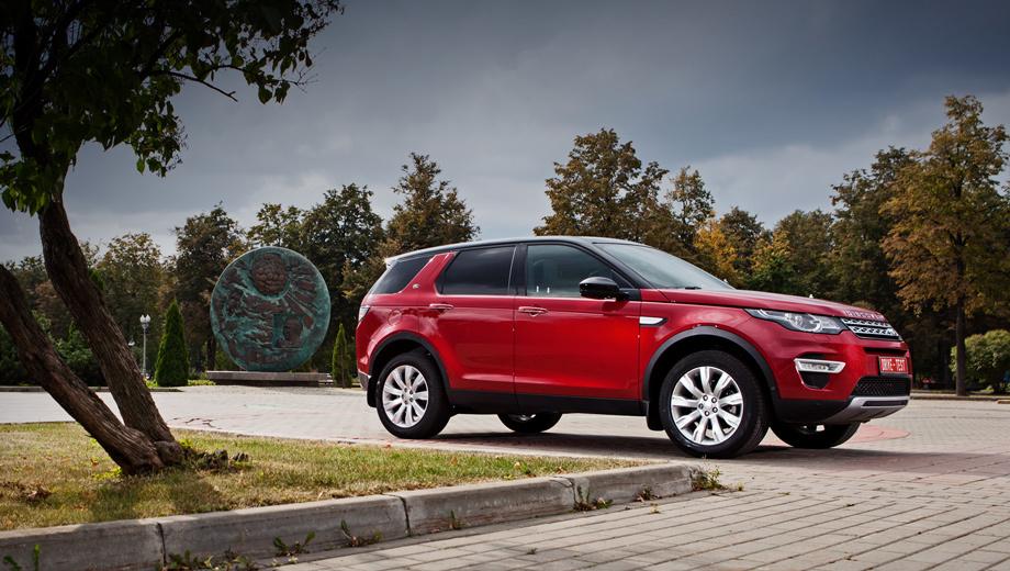 Land rover discovery sport. В России Discovery Sport предлагается исключительно с полным приводом, девятиступенчатым «автоматом» и тремя «турбочетвёрками» на выбор: дизельными мощностью 150 и 190 л.с. и 240-сильной бензиновой. Салон может быть как пяти-, так и семиместным.