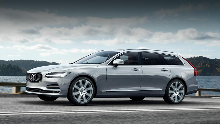 Volvo v90. Шведы уверяют, что новая модель — шаг вперёд в плане дизайна, материалов и отделки, по сравнению с предыдущими легковушками Volvo. Универсал, по их мнению, должен быть не только практичным, но и изысканным.