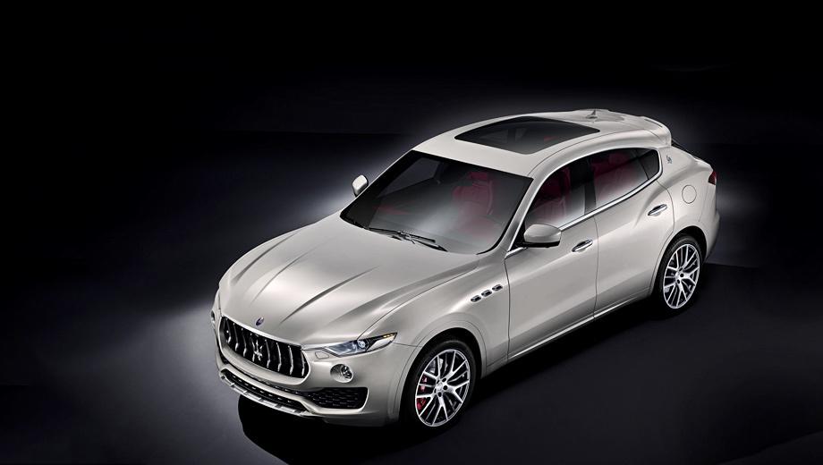 Maserati levante. Снимков салона компания пока не предоставила, но ясно, что тут будут большие пересечения с интерьерами других моделей бренда.
