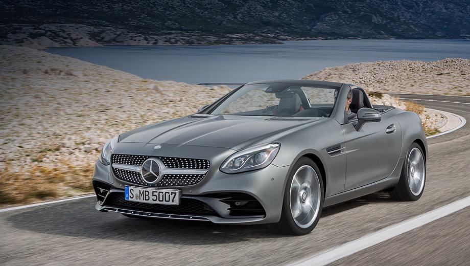 Mercedes sl,Mercedes slc,Mercedes slk,Mercedes -amg slc,Mercedes slk amg. Все родстеры SLC в нашей стране предлагаются в исполнении «Особая серия». Это набор стандартного оборудования специально для российских машин.