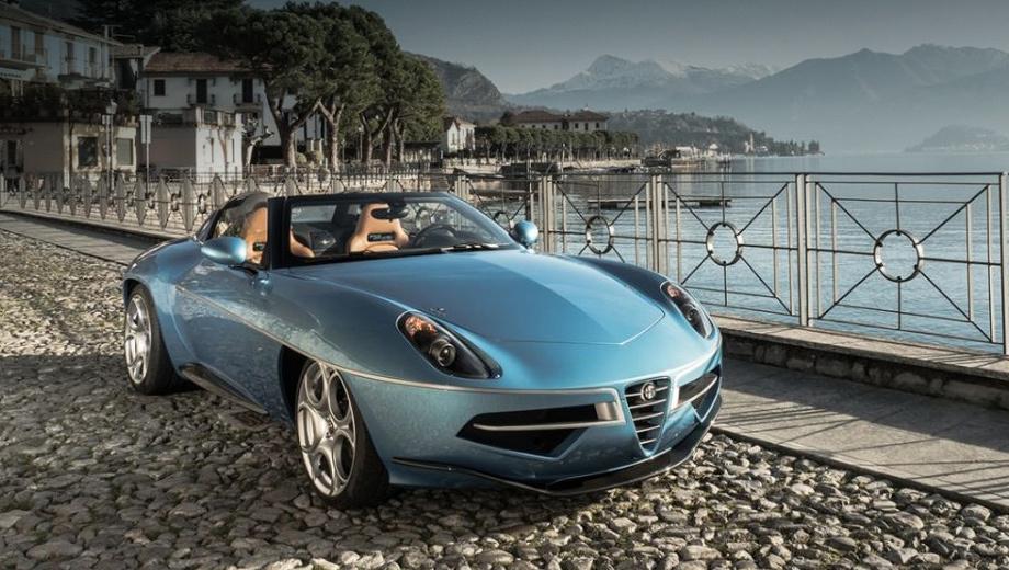 Купе Alfa Romeo Disco Volante лишилось крыши — ДРАЙВ