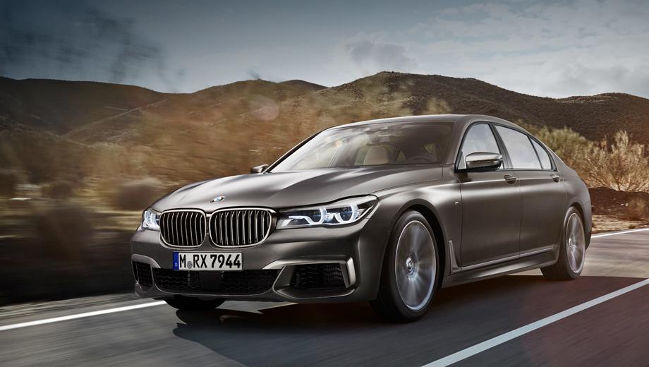Bmw 7. Благодаря уточнённым техническим характеристикам поменялся и расклад с конкурентами. Новый седан BMW на 0,1 с быстрее Audi S8 plus и на 0,3 с резвее седана Mercedes-AMG S 63 4Matic.