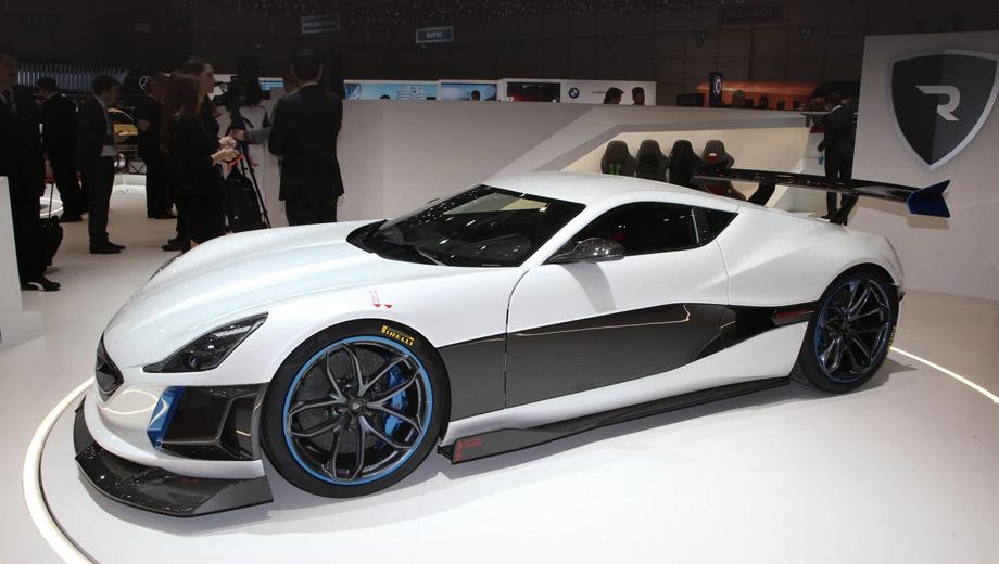 Суперкар Rimac Concept_S поразил конкурентов динамикой — ДРАЙВ