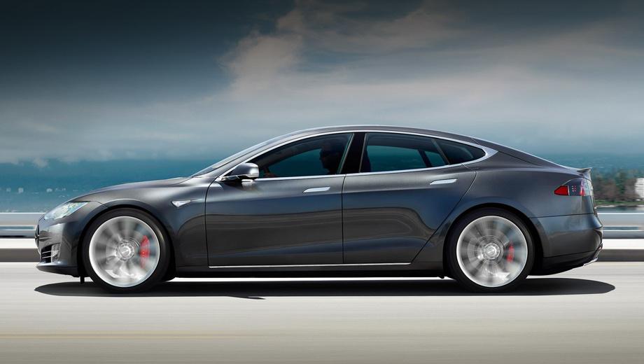 Tesla model s. Хотя у Теслы есть полноприводная «эска» P85D  (700 л.с., 931 Н•м), испанцы решили, что версии P85+ (416 л.с., 600 Н•м) для соревнований вполне достаточно, к тому же гоняться на заднем приводе интереснее.