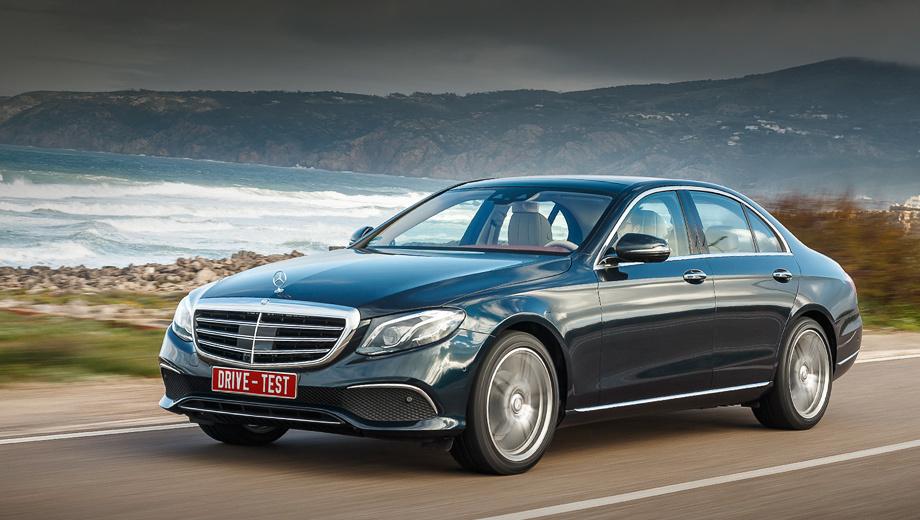 Mercedes e. Сегодня новый Mercedes Е-класса представлен в России в вариантах: Е 200 (184 л.с.) и Е 220 d (194 л.с.) — от 2 880 000 и 2 990 000 рублей соответственно и до 6,7 млн со всеми опциями. В сентябре эти версии предложат с полным приводом, также выйдут модификации Е 300 (245 л.с.) и Е 400 (333 л.с.).