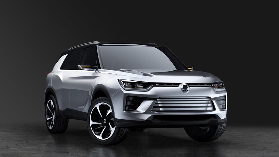 Ssangyong tivoli,Ssangyong tivoli xlv,Ssangyong concept,Ssangyong siv-2. Функционеры Санйонга полагают, что серийная версия женевского концепта SsangYong SIV-2, которая появится примерно к 2018 году, оптимально подойдёт для завоевания североамериканского рынка. Нужно лишь доработать модель и инвестировать в переименование бренда более $100 млн.