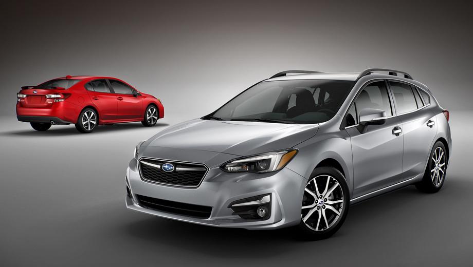 Subaru impreza. В российском представительстве компании сообщили, что окончательное решение о поставках новых Импрез в нашу страну не принято. Напомним, эта модель не продаётся в России с 2014 года.