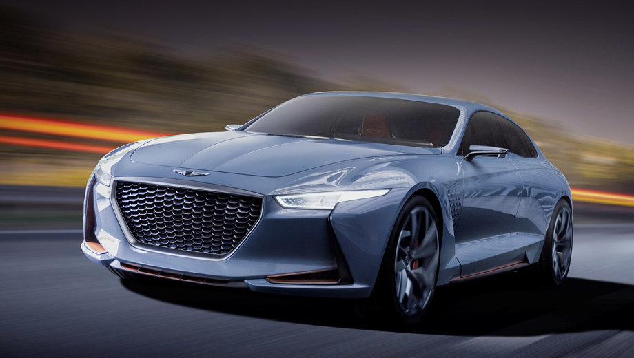 нью йоркский концепт Genesis предвосхитил выход купе G70 драйв