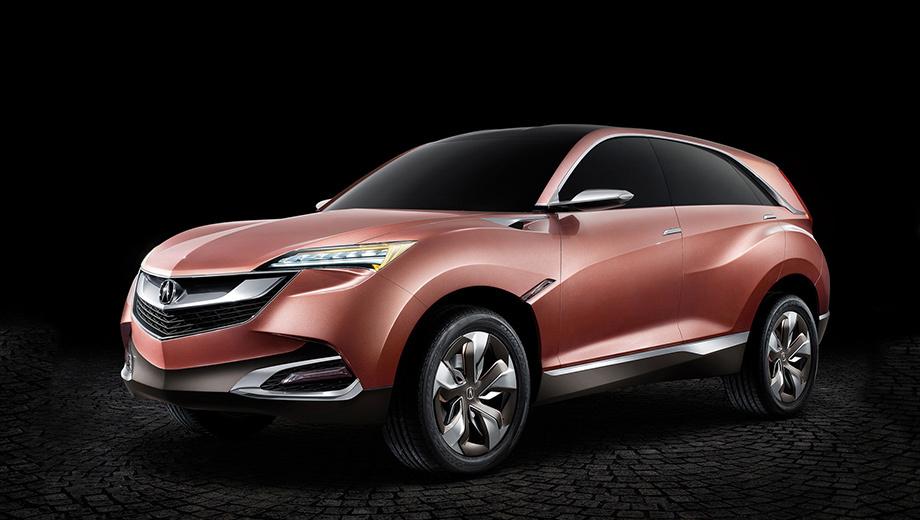 Acura suv-x. Показывая этот концепт три года назад в Шанхае, японцы ни словом не обмолвились о его технических характеристиках, но пообещали запустить модель в серию через три года. Время пришло.