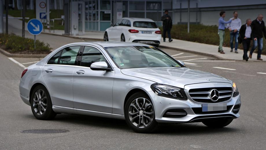 Mercedes c. У посвежевшего Мерседеса C-класса будут бензиновые, дизельные и даже гибридные версии, а также модификации с задним и полным приводом. Всё, как у дореформенной модели.