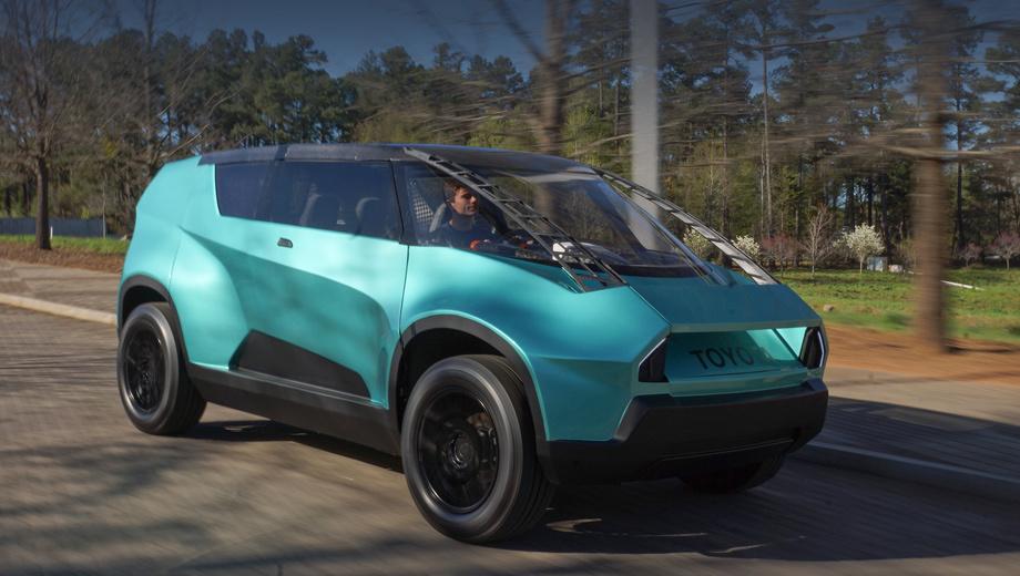 Toyota ubox,Toyota concept. Дизайн шоу-кара фирма определила как «смелый, молодой, броский». Размеров и других технических данных она не привела.