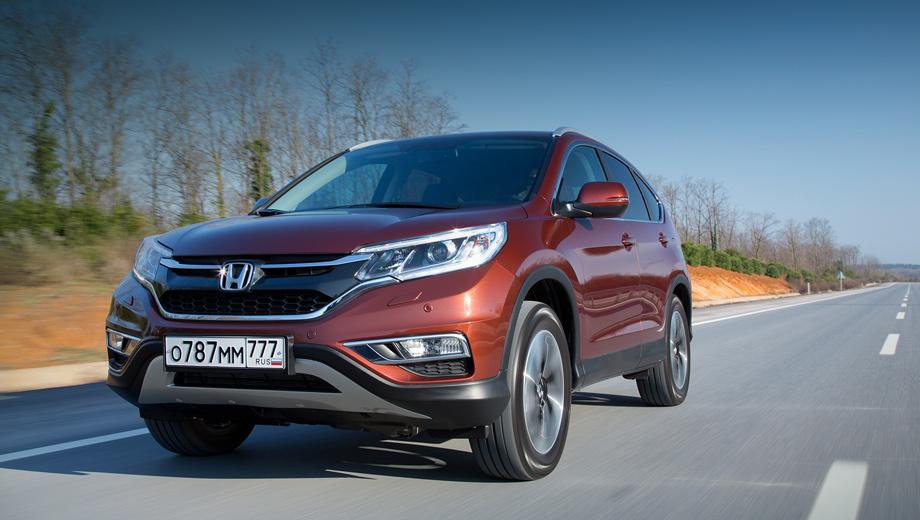 Honda cr-v. Со списком VIN-номеров машин, попадающих под отзыв, можно ознакомиться на сайте Росстандарта.