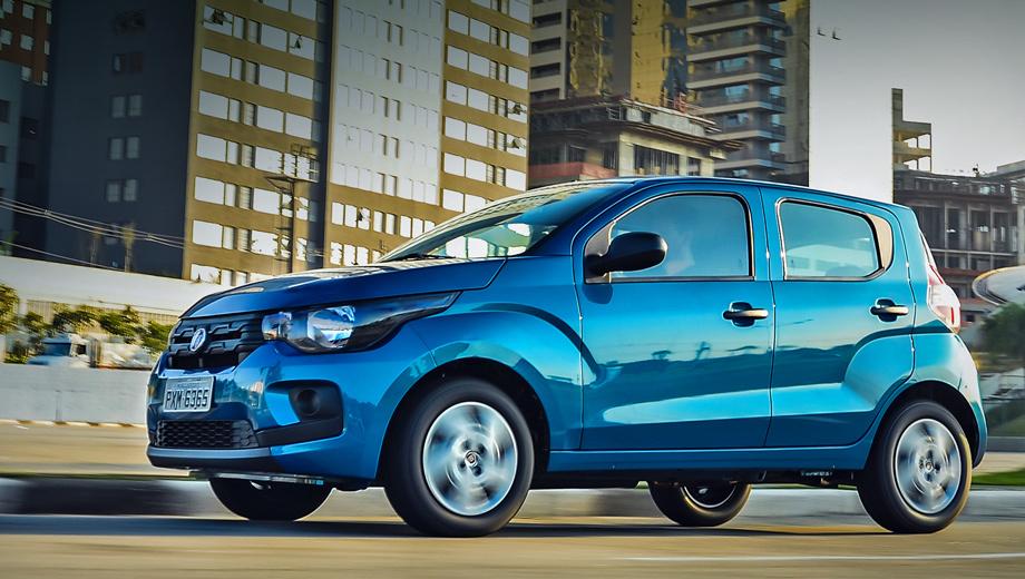 Fiat mobi. С места до 100 км/ч сити-кар Mobi разгоняется за 14,3 с, максимальная скорость — 153 км/ч.
