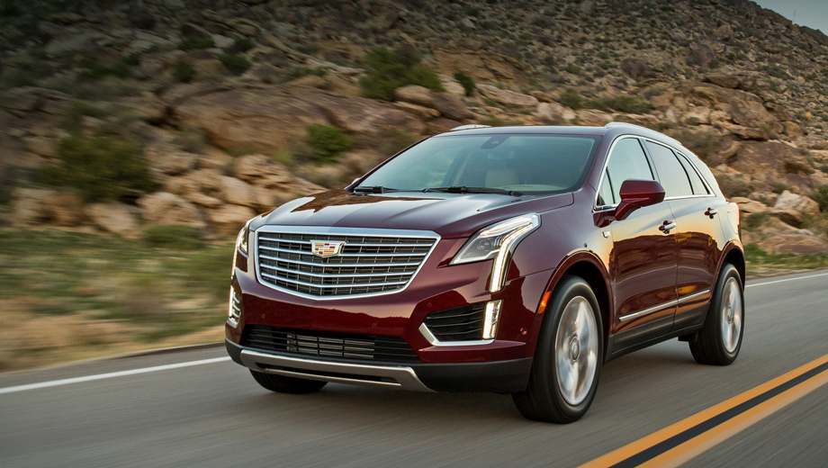 Cadillac xt5. Первые машины попадут к дилерам в июне. Заказы уже принимаются.