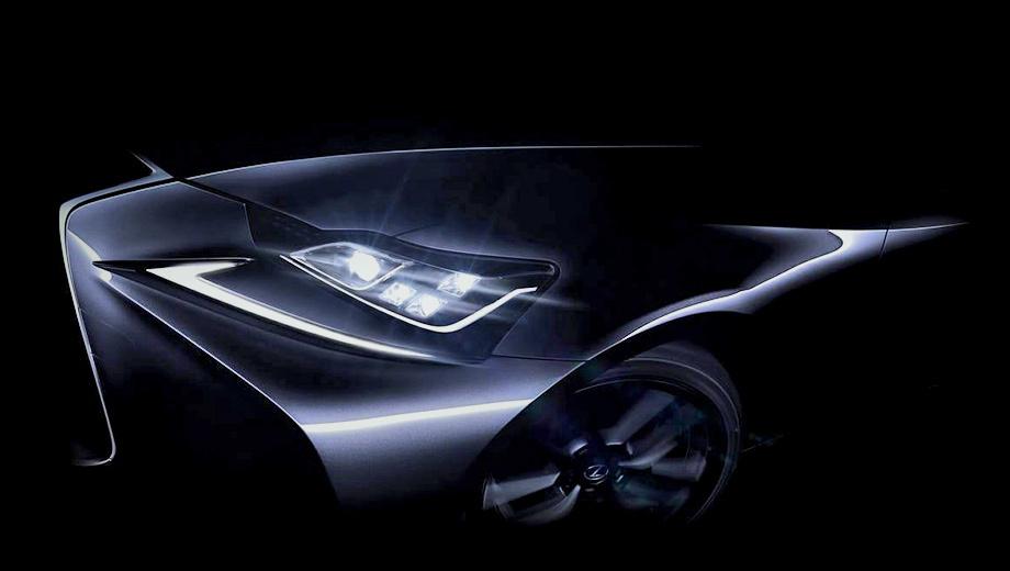 Lexus is. Этот тизер — пока единственное изображение обновлённого «ай-эса».