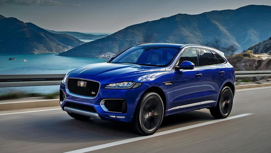 Jaguar f-pace. В России Jaguar стоит от 3 193 000 рублей за 180-сильную версию до 5 048 000 рублей за 380-сильную из ограниченной серии First Edition. Все модификации — с полным приводом и «автоматом», хотя в Европе есть заднеприводные кроссоверы с «механикой».