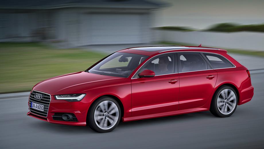 Audi a6,Audi a7. На линейке Audi A6 поменялись воздухозаборники, вентиляционные решётки, а на универсале — ещё и диффузор.