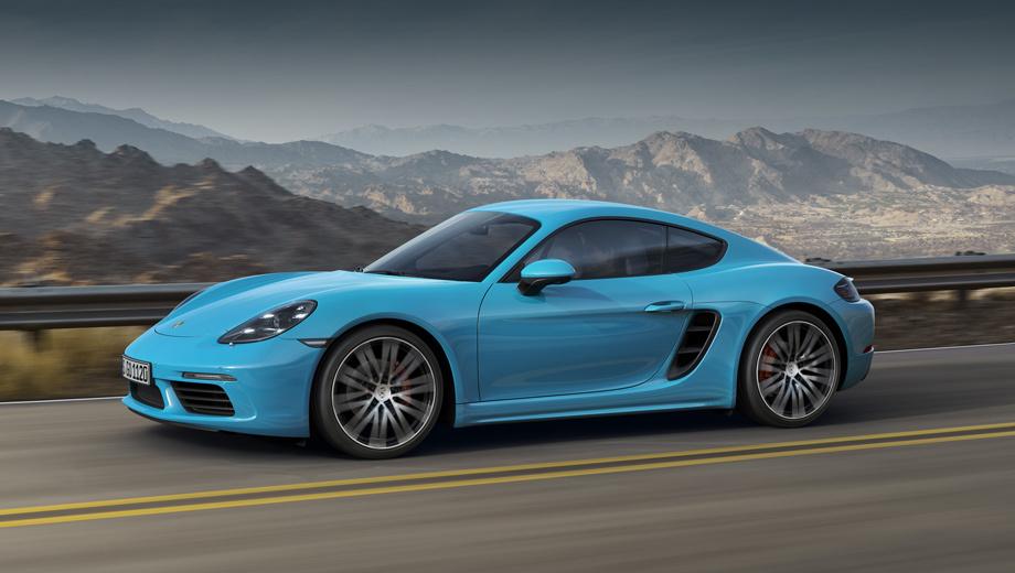 Porsche 718 cayman,Porsche cayman. Новая модель разработана на основе прежней, но перемен столь много, что производитель называет эту машину следующим поколением (четвёртым, если считать с предшественником 904, смотрите врезку «История»). Поменялась значительная часть кузовных панелей, конечно же, оптика, а главное — двигатели.