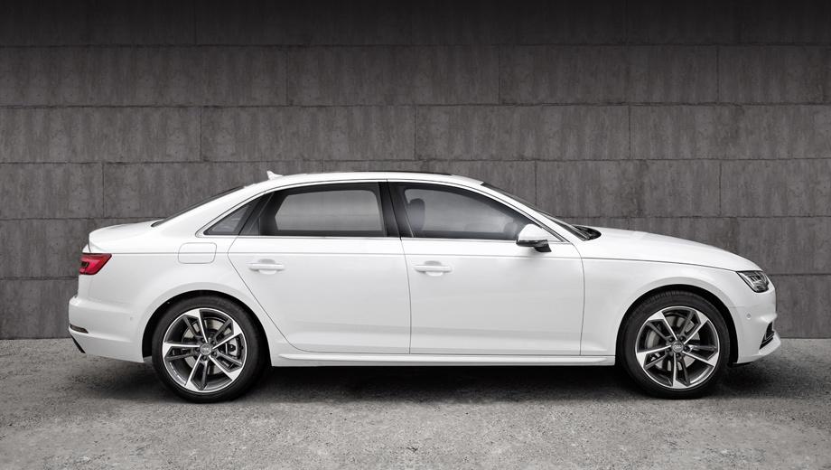 Audi a4,Audi a4 l. По общей длине (4,81 м) новая версия «а-четвёртой» не дотянула всего 12 см до стандартной модели Audi A6.