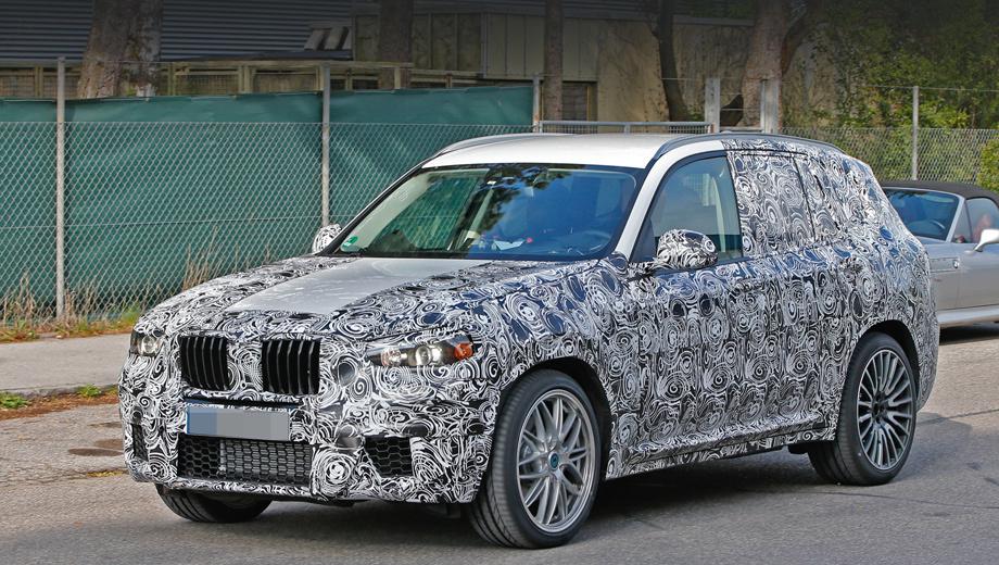 Bmw x3,Bmw x3 m,Mini countryman,Mini countryman jcw. Большие воздухозаборники с сотами — это первое, что бросается в глаза при взгляде на BMW X3 M. Второе — огромные колёсные диски (21 дюйм).