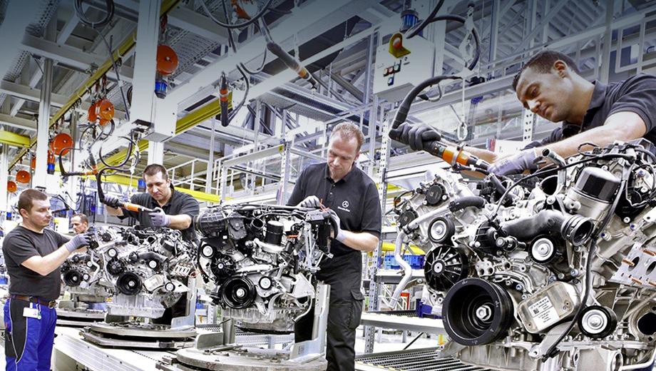 Mercedes c. Завод по сборке двигателей в Польше станет вторым подобным предприятием концерна Daimler за пределами Германии (моторы также производятся в Пекине).