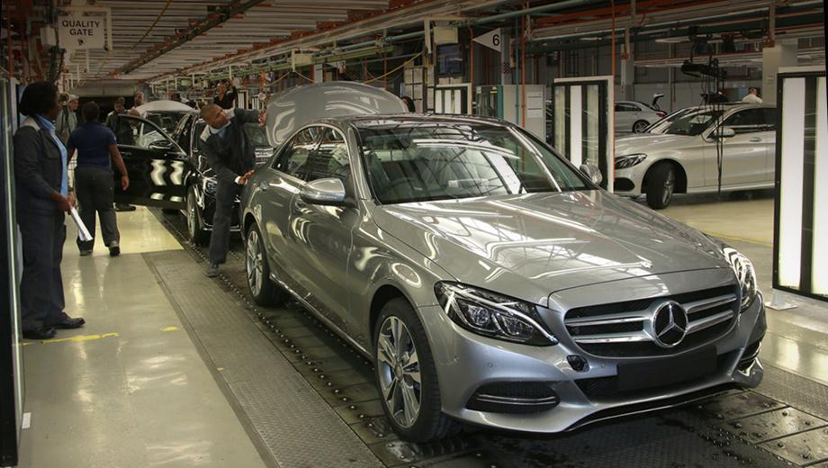 Mercedes c. Завод в Ист-Лондоне работает с 1958 года, здесь в настоящее время выпускаются некоторые модификации из семейства Mercedes-Benz C-класса.
