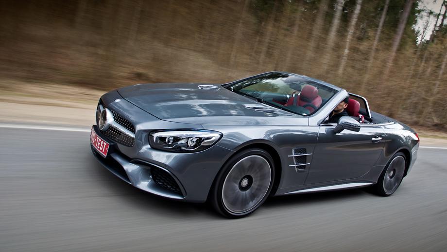 Mercedes sl. Вид обманчив: под агрессивной внешностью скрывается сущность, способная очаровать буквально каждого.