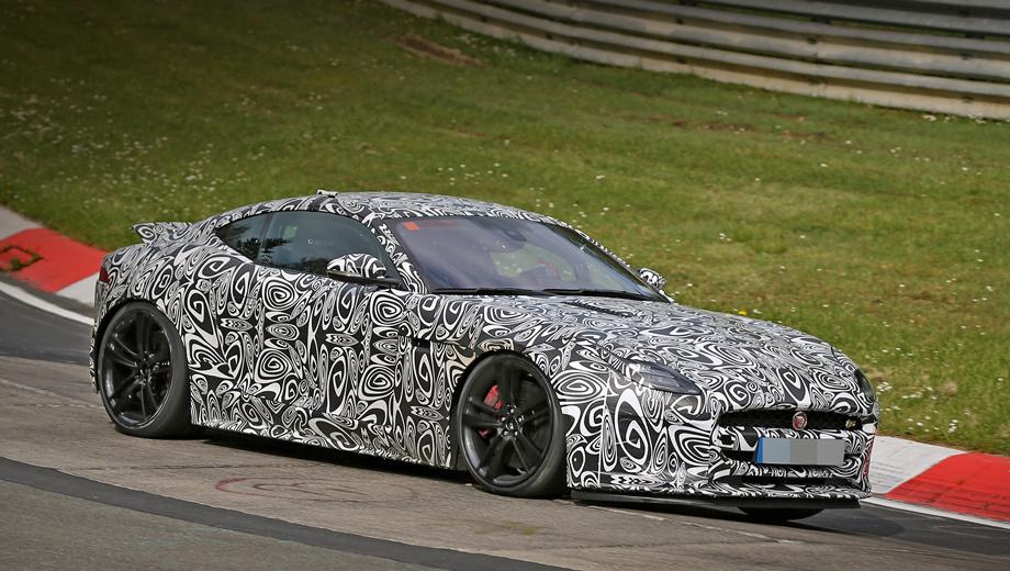 Jaguar f-type. Рестайлинговый Jaguar F-type, скорее всего, справит дебют на мотор-шоу в Женеве весной 2017-го.