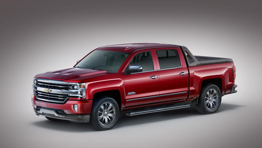 Chevrolet silverado. Новая серийная версия Silverado создана по мотивам концепта, показанного на тюнинг-шоу SEMA в 2014-м.