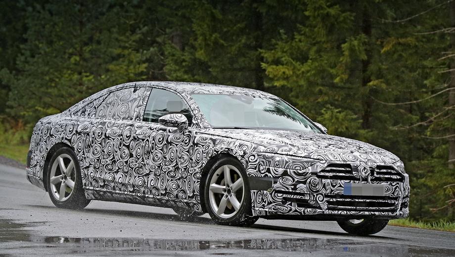 Audi a8. Когда состоится презентации машины, точно не известно. Новая «а-восьмая» будет показана либо осенью на мотор-шоу во Франкфурте, либо в марте 2017-го в Женеве.