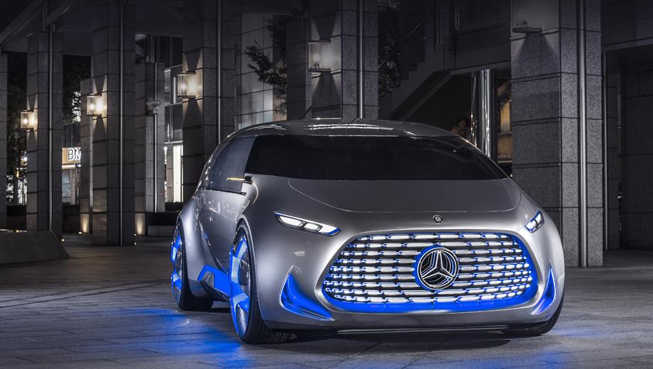 Mercedes b,Mercedes glc. Последний шоу-кар с альтернативной силовой установкой (водородной), Vision Tokyo, компания представила в прошлом октябре.