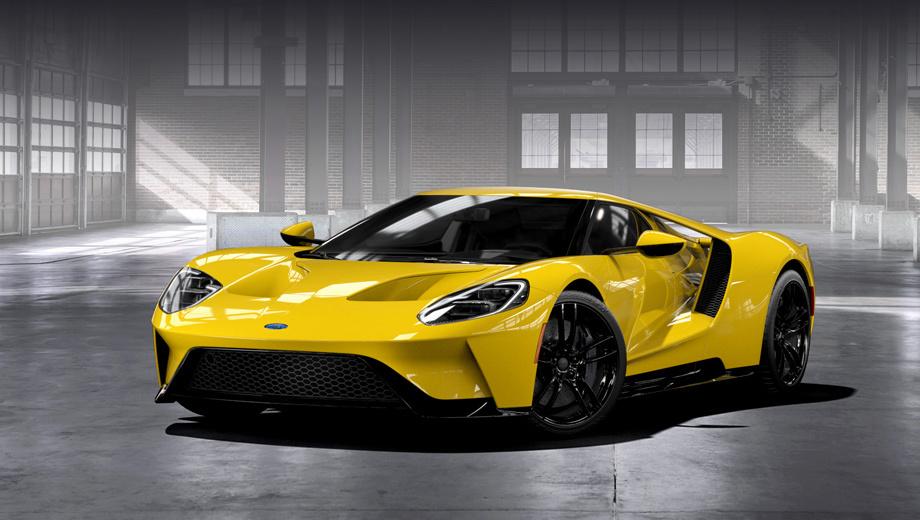 Ford gt. Двухдверка Ford GT должна поступить в производство к концу нынешнего года.