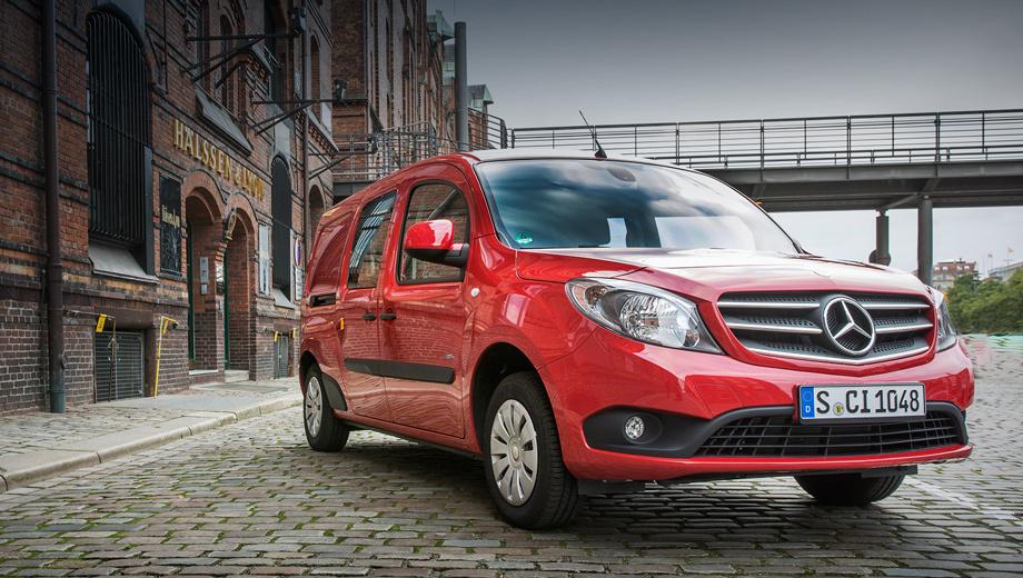 Mercedes citan,Renault kangoo. Mercedes Citan продаётся в разы хуже своего собрата под маркой Renault. Возможно, появление версии с двумя педалями исправит эту ситуацию.