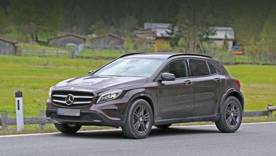 Mercedes glb. Финальный вариант машины появится только в 2018 году, а пока это самый ранний прототип, на котором тестируются шасси и его электроника.
