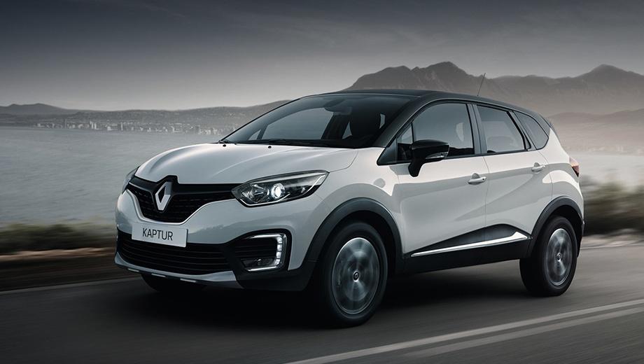 Renault kaptur. Дизайном Kaptur призван напоминать «европейца» Renault Captur и вербовать в клиенты марки молодёжь с хорошим достатком. Напомним габариты: длина — 4333 мм, ширина — 1813, высота — 1613, колёсная база — 2674, клиренс — 204 мм.