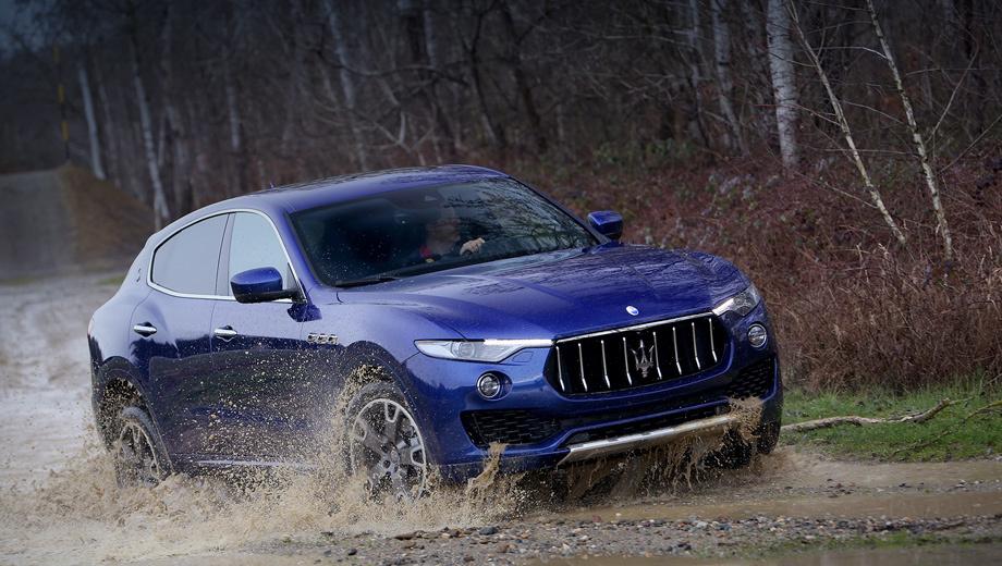 Maserati levante. Первая партия машин доберётся до дилеров не раньше осени.