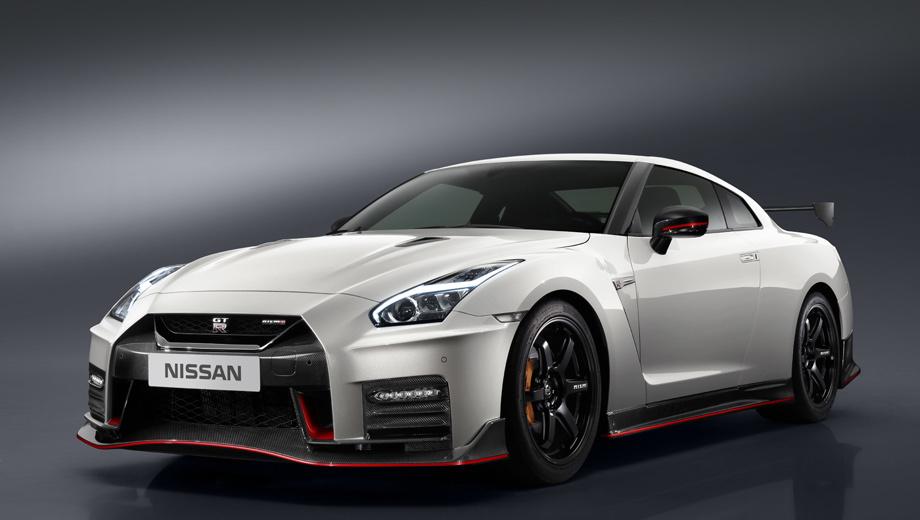 Обновлённое купе Nissan GT-R Nismo улучшило управляемость ...