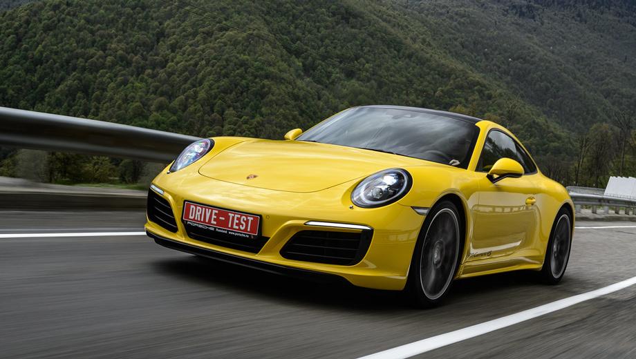 Porsche 911. Динамичнее, экономичнее, универсальнее — на первый взгляд, турбонаддув сделал Карреру только лучше. Предстоит выяснить, как у нового трёхлитрового мотора с надёжностью. Впрочем, до сих пор именно наддувные «оппозитники» Porsche слыли наиболее выносливыми.