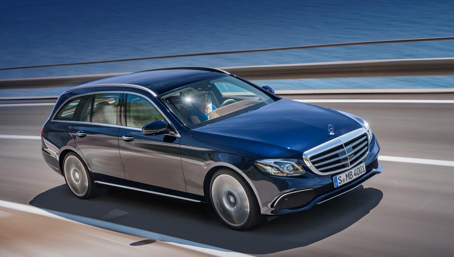 Mercedes e,Mercedes e amg. В России универсал Е-класса продаваться будет, но только с бензиновыми моторами. В этом году начнут принимать заказы на Е 200, а в следующем — на Е 200 4Matic.