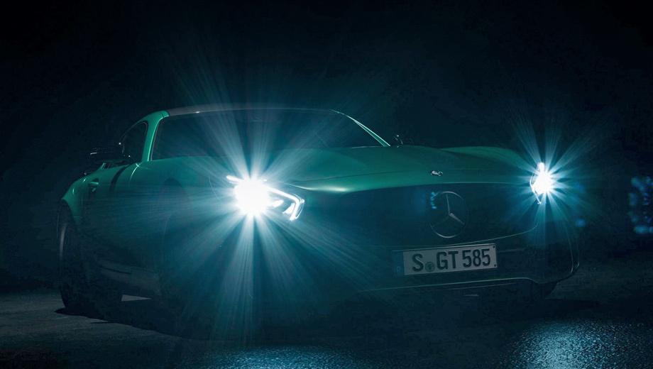 Горячий» Mercedes-AMG GT R ощутил прибавку в 75 сил — ДРАЙВ