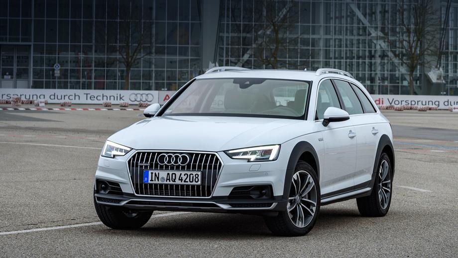Audi a4 allroad. Дорожный просвет вседорожника на 34 мм больше, чем у других представителей семейства А4 (правда, предшественник располагал прибавкой аж в 45 мм).